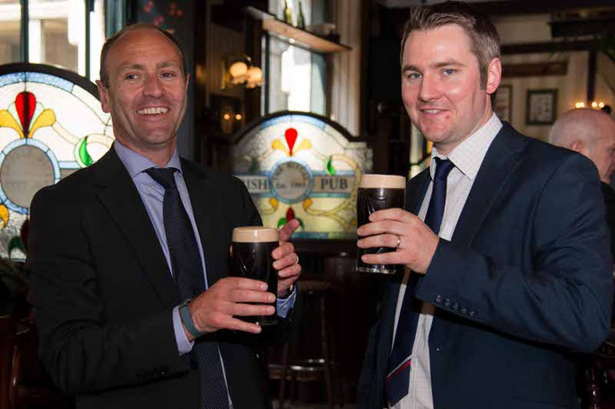 Kenny Jacobs all'Irish Pub
