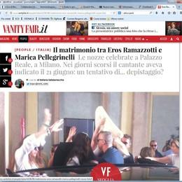 Marica ed Eros  si sono sposati  Nozze al Palazzo Reale di Milano