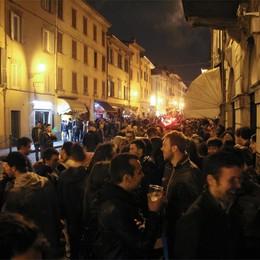 Borgo S. Caterina chiede controlli  In stand by i venerdì della movida