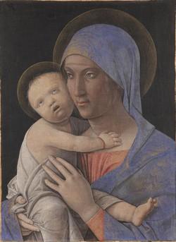 Andrea Mantegna, «Madonna col Bambino»