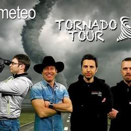 Il bergamasco che filma i tornado  Dagli Usa arriva il primo video