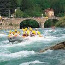 San Giovanni Bianco-Zogno  Riecco il rafting sul Brembo