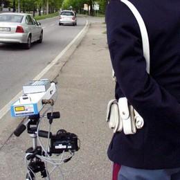 Velocità, i controlli in Bergamasca  Gli autovelox dal 7 al 13 luglio