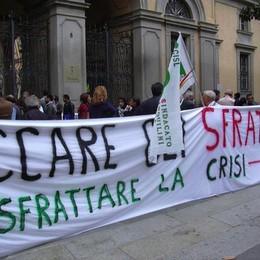 L'Unione Inquilini: «Condanna e indignazione per gli sfratti»