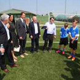 L'assessore Rossi a Zingonia:  «Atalanta modello di formazione»