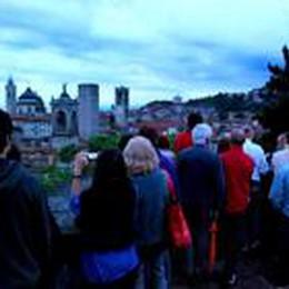 Bergamo tricolore  Visita alla Rocca