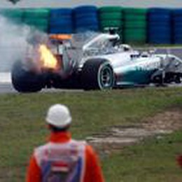 Hamilton , la pole va in fumo  Rosberg è favorito a Budapest
