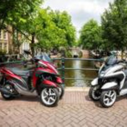 Yamaha Tricity  Ecco il tre ruote