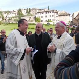 Pellegrinaggio da Assisi a Roma  600 giovani  al fianco del vescovo
