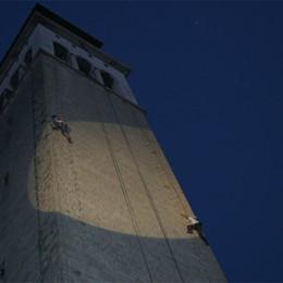 Notte bianca a Ponte San Pietro  Il Cai all'assalto del campanile