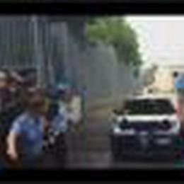 Il pm Letizia Ruggeri lascia il carcere dopo l'interrogatorio