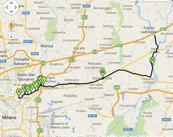 La pista ciclabile della Martesana: da Trezzo a... Milano Centrale