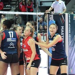 Volley, la Foppa dà i numeri  Ecco quelli della stagione 2014-15
