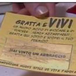 A Padova c'è il Gratta e vivi  Il premio? Un abbraccio