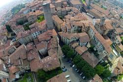 Una panoramica di Città Alta