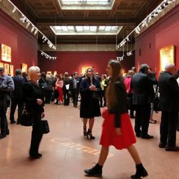 Mosca-Bergamo, 7 giorni in Tir  Tornate a casa le tele della Carrara