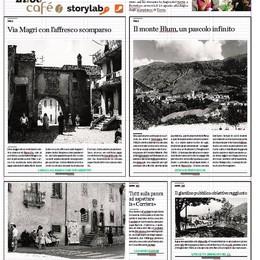 Rovetta, l'affresco della storia  Le nuove fotografie di «storylab»