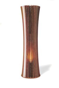 Una lampada della Origami Forniture