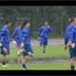 Il primo allenamento del Mozzanica 2014-2015