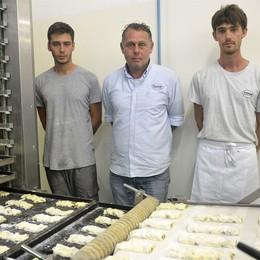 A Berna si mangia pane orobico  È di Tresoldi, made in Azzano