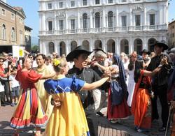 Festival del folclore a Bergamo