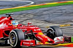 Fernando Alonso sulla Ferrari