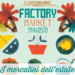 Torna il Factory Market   A Redona il 31 agosto