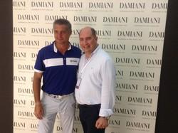Giuseppe Viola con Daniele Massaro