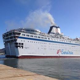 La nave da Olbia non parte  Odissea per 1.500 passeggeri