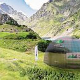 Orobie porta il cinema ad alta quota  Da venerdì proiezioni a 2 mila metri