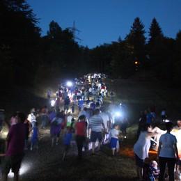 A Selvino sabato 9 agosto  Minimarcia sotto le stelle con i lupi