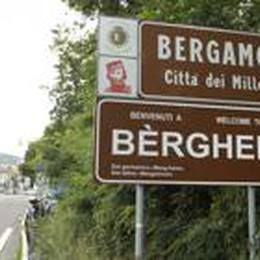 Benvenuti a Bergamo...  tra cartelli, svincoli ed erbacce