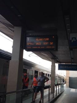 Disagi e ritardi in stazione