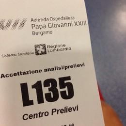 Ospedale, che coda al Centro Prelievi Un'ora per fare gli esami del sangue