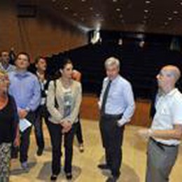 L'assessore Cappellini a Treviglio:  «Cultura, 1,4 milioni alla Bergamasca»