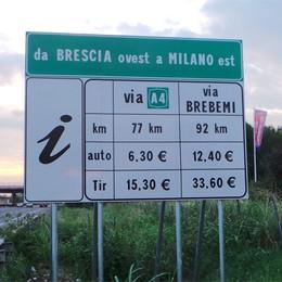 Segnaletica  «errata e fuorviante»  E Brebemi porta l'A4 in tribunale