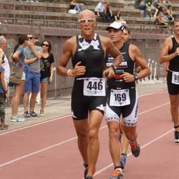 Carlo Brena vola in Svezia  all'Ironman di Kalmar sul Baltico