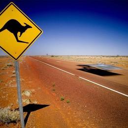 Sognando l'Australia, un concorso La bergamasca Astrid in partenza