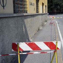 Via Magrini,  Barbieri: «Riqualificare?   Ci sono  tutti gli strumenti»