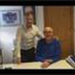 Fabio Bombardieri con don Roberto Pennati
