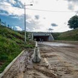 Smottamento, statale ancora chiusa  tra Albano e Trescore Balneario
