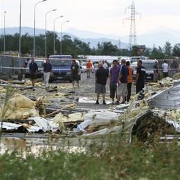 I danni del maltempo a Zanica  Bcc in soccorso con 3 milioni  di credito