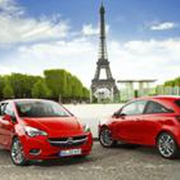 Verso Parigi/4  Nuova Opel Corsa
