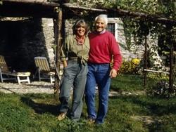 Walter Bonatti con Rossana Podestà