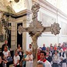 Tanta commozione ad Astino  Chiesa del Santo Sepolcro riaperta