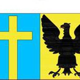 Ecco lo stemma di Val Brembilla  Ci sono sia l'aquila, sia la croce
