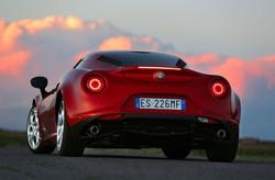L'Alfa Romeo 4C