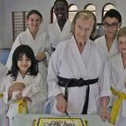 La nonnina karateka di 101 anni  Lunedì intervista con Magalli  su Rai2