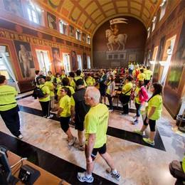 Millegradini, grande festa 2700 iscritti a spasso per Città Alta