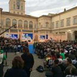 Gli studenti bergamaschi a Roma  Ecco i loro scatti dal Quirinale